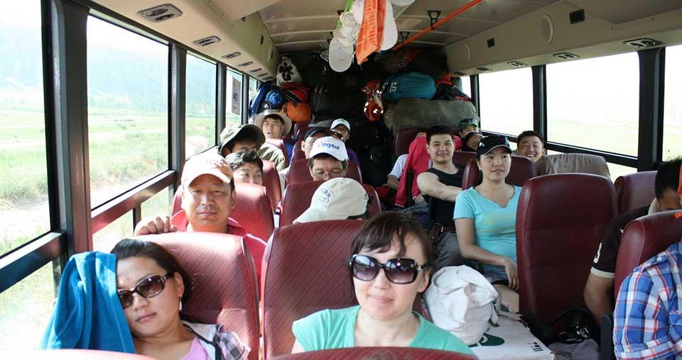 Transports publics en Mongolie